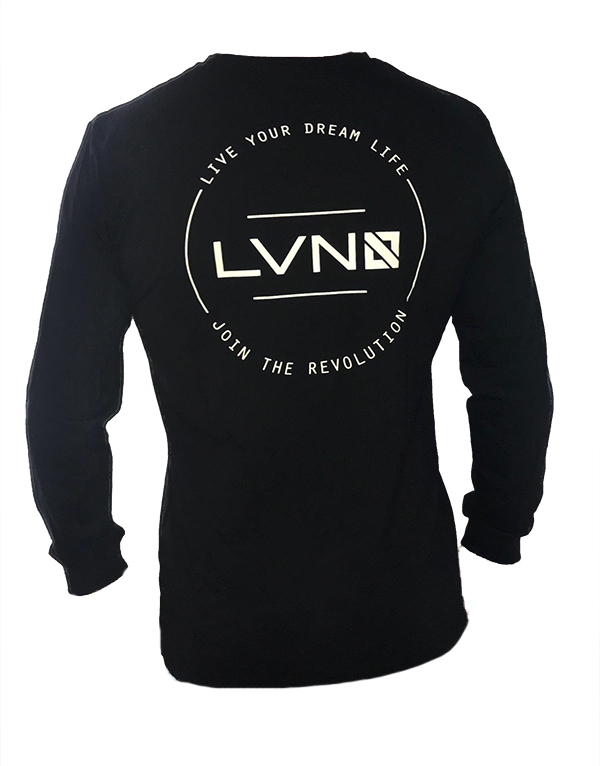 ecd5c1212 MENS CIRCLE OF LIFE LONG SLEEVE BAMBOO/ORGANIC COTTON TEE (LIMITED SIZING)  - LVN Lifestyle Adventure Clothing